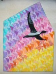 Morning Flight - a quilt by Diane Becka